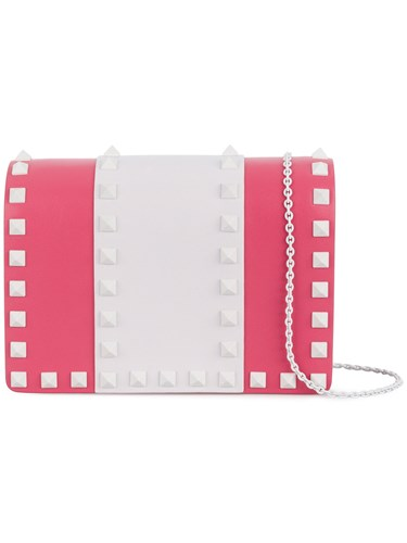 Valentino Garavani Free Rockstud Shoulder Bag Pink And Purple eGiiBvn75
