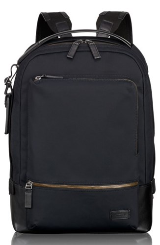 Tumi 'S Harrison Bates Backpack Black Black Nylon Yd9TM