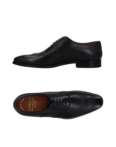 Doucal's Lace Up Shoes Black xUhBKFab