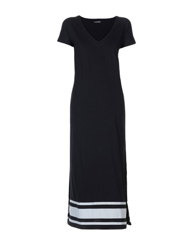 Twin-Set Simona Barbieri Long Dresses Black 9Byav
