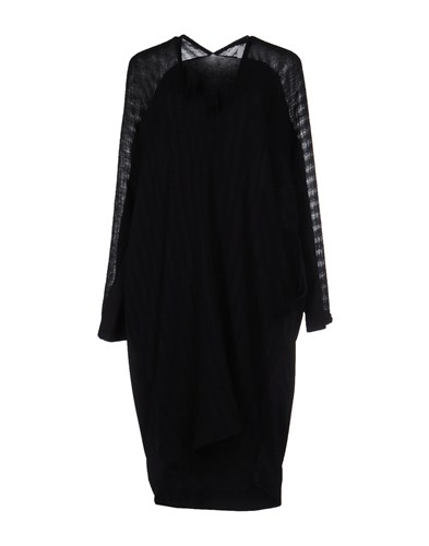 Knee Errico Paolo Dresses Length Black 6qd54