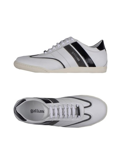 Galliano Sneakers White jtkUlzApuZ