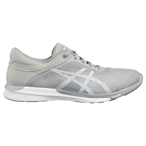 Fuzex Silver Asics Women's Shoes White Running fTWY0wq