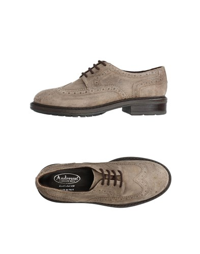 ANDERSON Up ANDERSON Lace Grey Lace Shoes r7trqw0