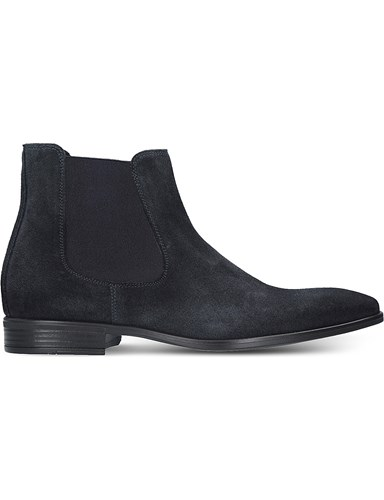 Kurt Geiger Frederick Suede Chelsea Boots Navy YUYPhi8AS