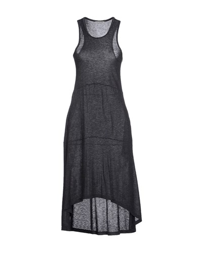 Pinko Grey Dresses Knee Length Dresses Women Steel Grey SPvQLD3oGW