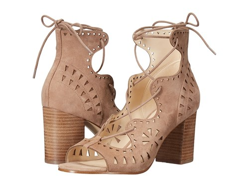 Nine West Gweniah Natural Suede Shoes Tan cv1rI