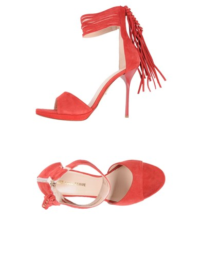 SF SOLO FEMME Sandals Red rgXNAtcS