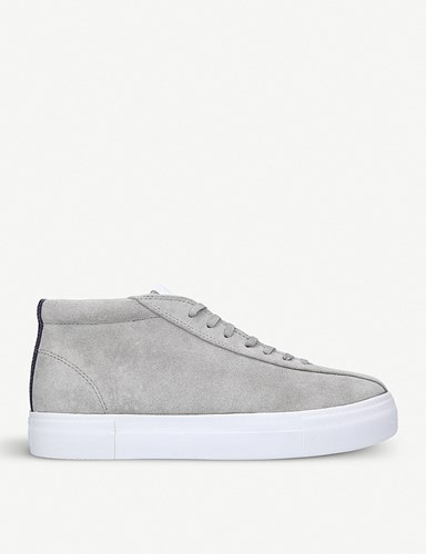 Eytys Mother Mid Suede Trainers Grey DYZxrm0