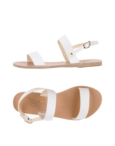 Ancient Greek Sandals White 0QSEPK5