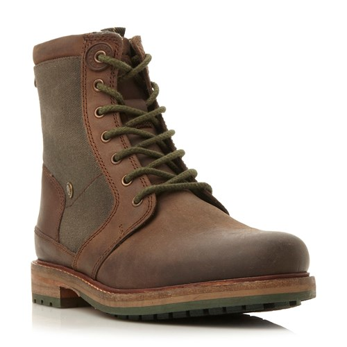 Comb Heavy Whitburn Barbour Boot Brown 54Ecqg
