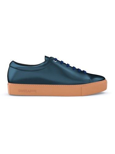 Swear Vyner Sneakers Calf Leather Leather Rubber Blue SrMCi