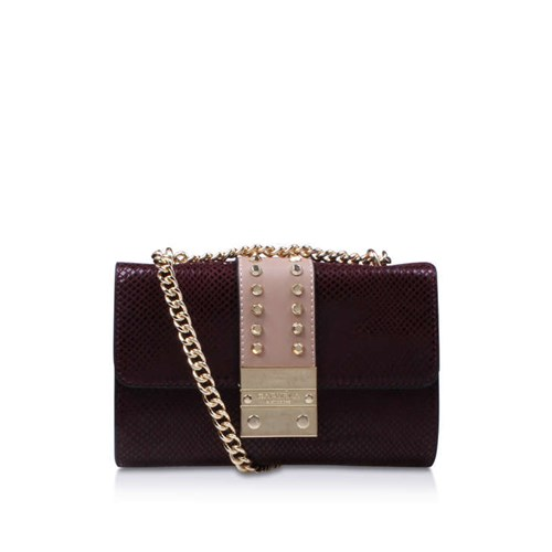 Carvela Kurt Geiger Kankan Cross Body Wine Combination ZYG5Ocef3r