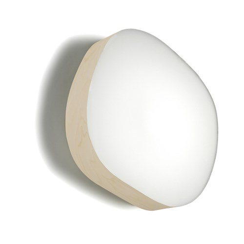 Guijarros 6 Wall And Ceiling Sconce Ivory White Gu 24 Base Multicolor