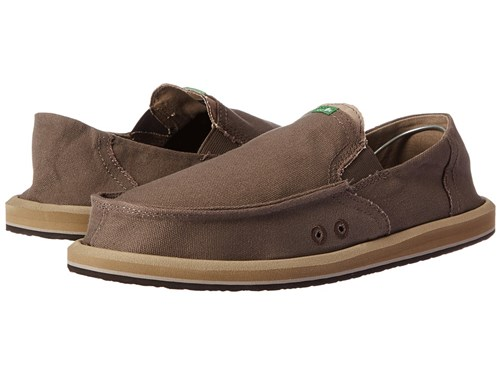 Sanuk Pick Pocket Brindle Natural Slip On Shoes Brown ZgJDCq