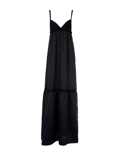 Faith Connexion Long Dresses Black BOPJtXLwLQ