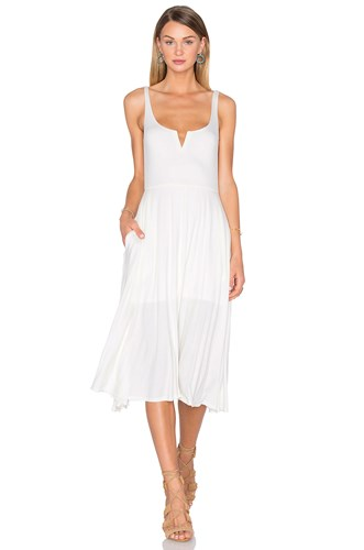 House Of Harlow X Revolve Elle Tank Dress White WOssw7L