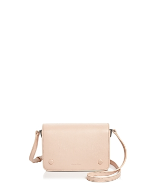 Steven Alan Cameron Leather Crossbody Bisque Silver IeKM3aBi