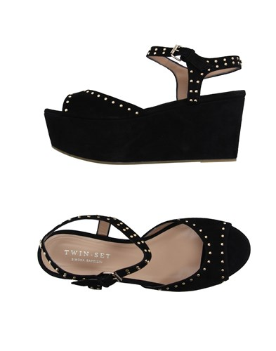 Twin-Set Simona Barbieri Sandals Black PW9wU