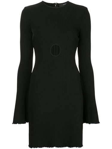 Ellery Holey Sunshine Dress Black n9yVCql
