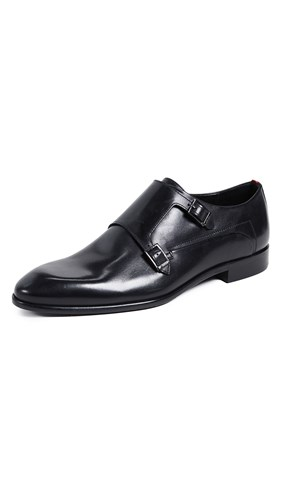 Hugo Monk Strap Shoes Black SsbdfVKMM
