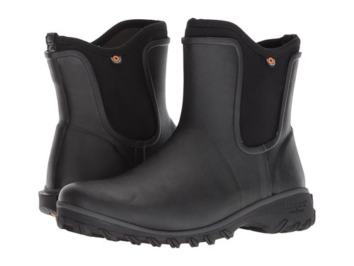 Bogs Sauvie Solid Slip On Boot Black Rain Boots mO9jj30
