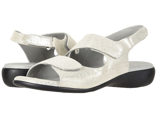 David Tate Lilly Silver Cosmo Sandals SC3vaQ