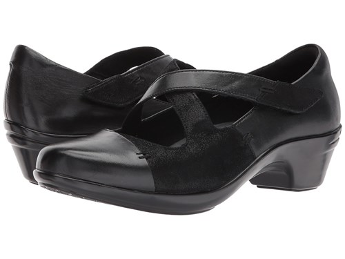 Aravon Kitt Cross Strap Black Multi Women's Shoes xOS0Y
