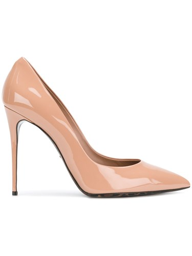 Dolce & Gabbana Court Pumps Women Calf Leather Leather Patent Leather 37 Nude Neutrals E9oUidE