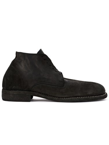 Guidi Lace Up Fitted Boots Black sCop4P8H