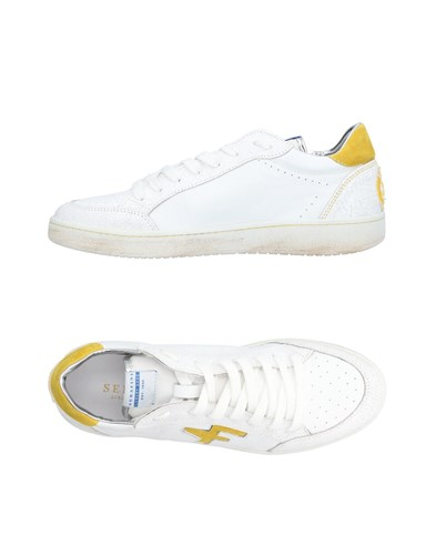 SERAFINI LUXURY Sneakers White 6GBEkbZptg