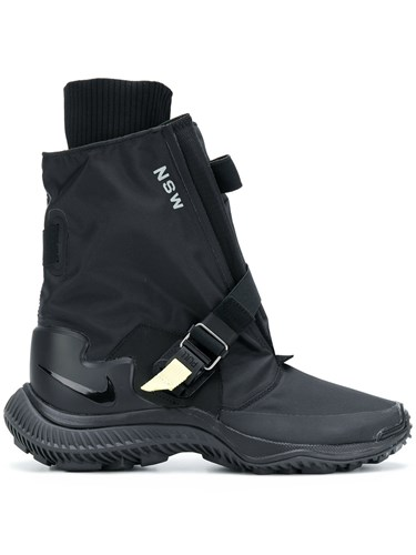 Nylon Leather Rubber Black Nsw Sneakers Gaiter Nikelab Nike Boot Gyakusou 4Ywn7pq