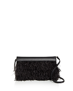 Max Mara Feather Evening Clutch Black Gold eOHOw