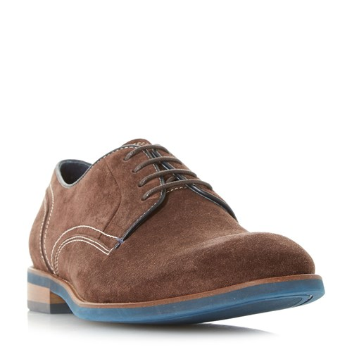 Lace Baptista Shoes Dune Contrast Gibson Brown Up 7twadUq