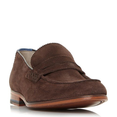 Oliver Sweeney Longbridge Penny Loafer Shoes Brown pqT2VfW