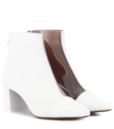 Neous Alaska Leather Ankle Boots White tBWkiHir