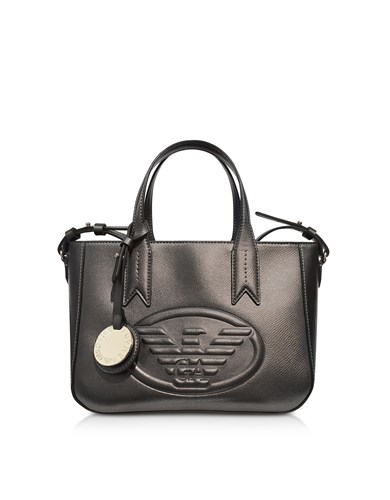 33538ce59d89 Emporio Tote Eagle Handbags Bag Armani Small Embossed Fq6UwFSr