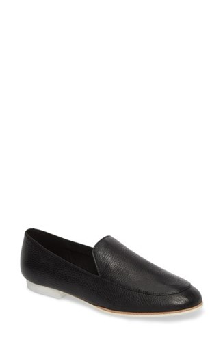 Kenneth Cole Women's New York Westley Welt Loafer Black Leather 79xyw8