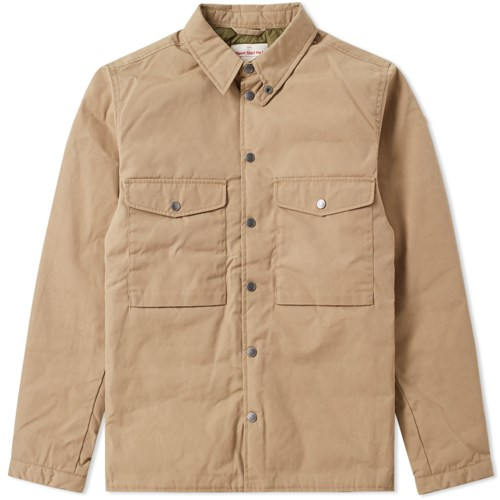 Fjallraven Numbers Down Shirt No.1 Brown