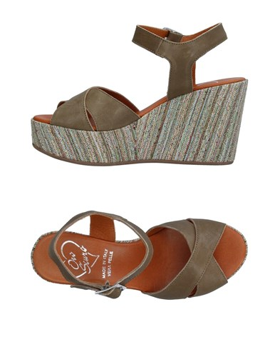 OROSCURO Sandals Military Green D2BoW