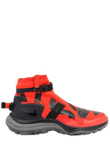 Nike Acg.008.Zpbt Waterproof Sneaker Boots Orange Black YCZ9jy8a