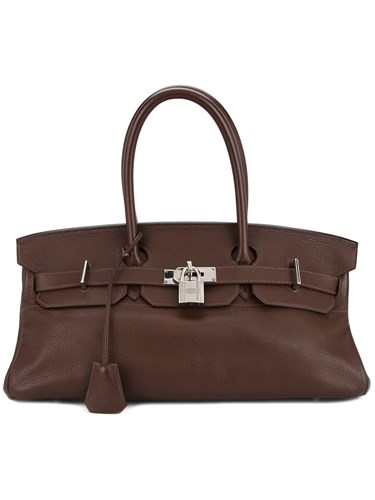 Hermes Vintage Birkin Bag Brown 1La78T4
