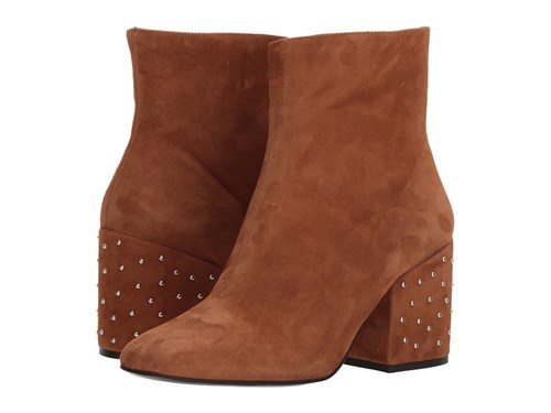 The Kooples Suede Leather Boots Brown JBANF