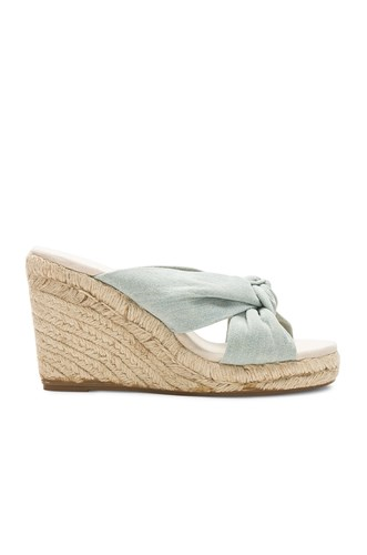 Soludos Knotted Wedge Blue SkpomNrui