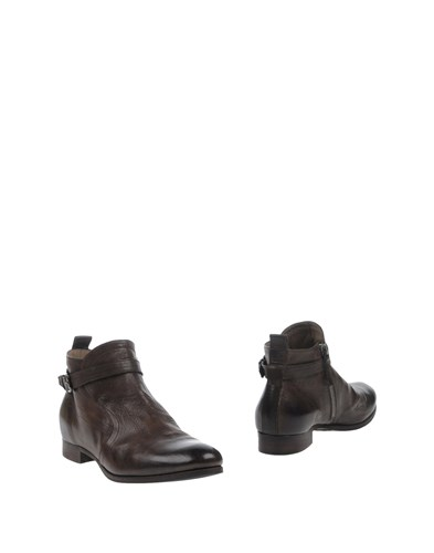 Laboratorigarbo Ankle Boots Dark Brown NyupOZx9V8