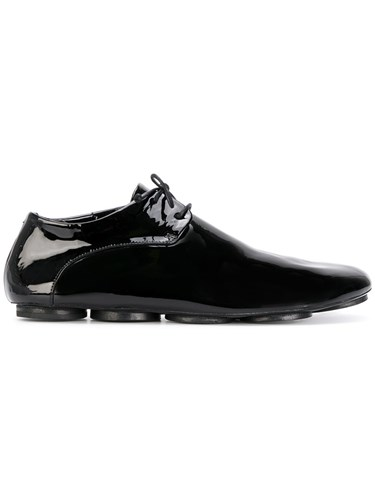 Marsèll Smart Fitted Sneakers Leather Patent Leather Black XjYhS