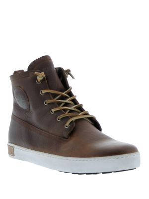 Blackstone Lace Up High Top Sneakers Old Yellow Zcb8c6Jpt