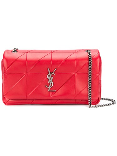 Saint Laurent Medium Patchwork Jamie Bag Red HC1ADqK