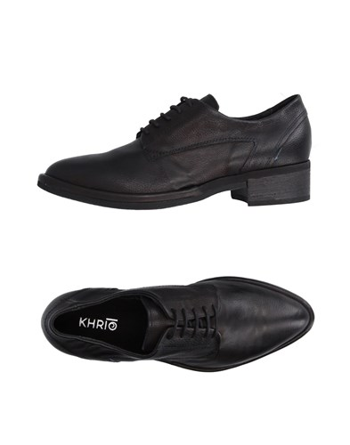 Khrio Khrio' Lace Up Shoes Black lo7A6G