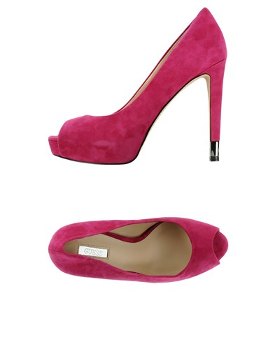 GUESS Pumps Fuchsia hwH5ZBiMM
